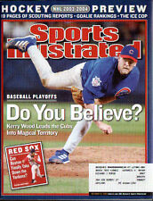 OCT 13 2003 SPORTS ILLUSTRATED- KERRY WOOD  - CHICAGO CUBS