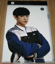 EXO SMTOWN COEX Artium SUM OFFICIAL GOODS CHANYEOL CLEAR FILE L-HOLDER SEALED