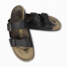 Birkenstock Arizona Black Sandals Men's UK Size 11 EU 44 Leather Insole Cork