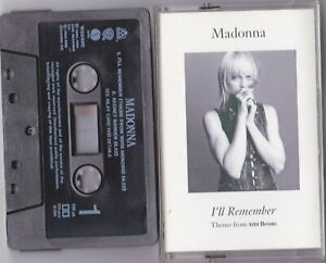 MADONNA - I'LL REMEMBER THEME FROM WITH HONORS CASSETTE SINGLE W0240C