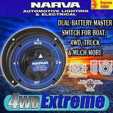 NARVA DUAL BATTERY MASTER SWITCH MARINE BOAT HEAVY DUTY SYSTEM AGM 61090