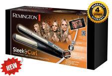 Remington Straightener S6500 Sleek&Curl  Straightener that Curls and Straightens