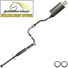Stainless Steel Exhaust System Kit Fits 94-97 Honda Accord 97-99 Acura CL 2.2L
