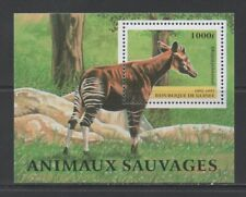Thematic Stamps Animals - GUINEA REP 1997 WILD ANIMALS MS mint