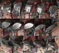 Large Lot of 21 RH Golf Clubs - Callaway * TaylorMade * Nike * Mizuno * Titleist