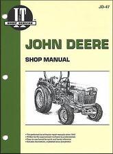 John Deere 850 950 1050 1978-1989 Tractor Service Repair Workshop Manual