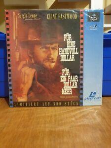Laserdisc Für eine Handvoll Dollar + Für ein Paar  Dollar mehr Box Pal