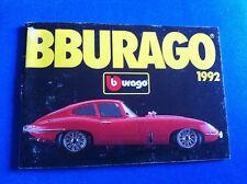 Bburago Prospekt Katalog 1992 Ferrari Jaguar MB Alfa Porsche BMW Lancia Lamborgh