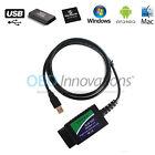 ELM327 USB Cable OBD2 Diagnostic Scanner with FTDI FT232RL Chip PIC18F25K80 v1.4