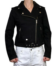 "DIESEL Damen Jeans Jacke  "" R-LUPUS "" schwarz Gr. M  NEU"