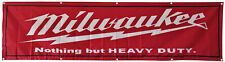 Milwaukee Tools Flag Banner 2X8Ft US Shipper