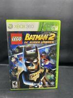 XBOX 360 LEGO BATMAN 2 DC SUPER HEROES COMPLETE GAME