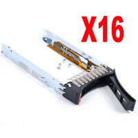"Lot of 16, 2.5"" SAS/SATA Hard Drive Caddy Tray for IBM x3650 M3 X3650M3 New"