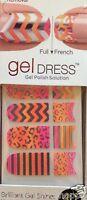 Kiss Nail Gel Dress Gel Polish Solution Gel Strips # 60639 Menagerie VHTF