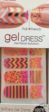 Kiss Nail Gel Dress Gel Polish Solution Gel Strips # 60639 Menagerie VHTF