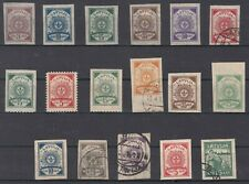 LATVIA,SELECTION OF CLASSIC STAMPS - LOOK!