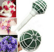 Foam Bouquet Holder Handle Bridal Floral Wedding Flower DIY Decoration Gadget HG