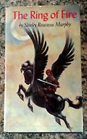 1977 Book The RING of FIRE, 1st Edition SIGNED by author Shirley Rousseau Murphy