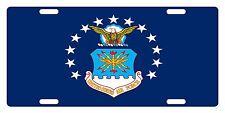 USAF Custom License Plate U.S. AIR FORCE Emblem Original   Version