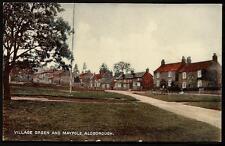 Aldborough near Boroughbridge. Village Green & Maypole by RAP Co.