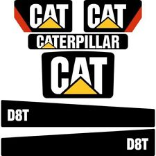 Decal Sticker Set CAT D8T Bulldozer Decal Set