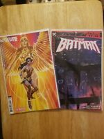 FUTURE STATE THE NEXT BATMAN #1 - Ladronn Cover A + ww 84 cover 2 book lot