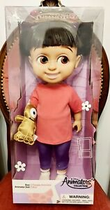 NEW - BOO Animator Doll - Disney Store Monsters Inc / University with Toy RARE