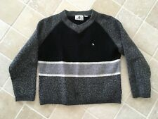 WOMENS, COLORADO ADVENTUREWEAR, SHORT JUMPER BLACK/GREY/CREAM SIZE L, WOOL BLEND