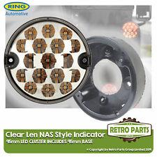 95mm Ámbar LED Claro Indicador Luz Mejora Land Rover Defender Nas Incluye Base