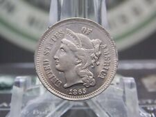 1865 3 Three Cent Nickel 3CN #1  East Coast Coin  & Collectables, Inc.