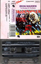 """K 7 AUDIO (TAPE)  IRON MAIDEN  """"THE NUMBER OF THE BEAST"""""""