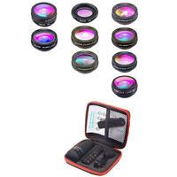 Apexel 10 In 1 Mobile Phone Lens Telephoto Fisheye Lens Wide Angle Macro Le H2M3