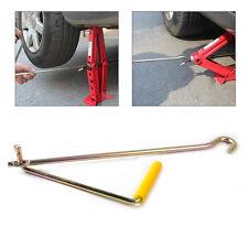 New Steel Car Tire Wheel Lug Wrench Scissor Jack Crank Speed Handle Lift Tool