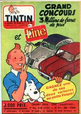Comic strips et périodiques franco-belge et européennes mensuels franco-belge Tintin, en français