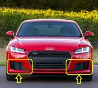 Genuine AUDI TT (15-17) Front Bumper GRILL PAIR SET  LEFT + RIGHT