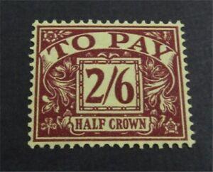 nystamps Great Britain Stamp # J33 Mint OG H $40   L23x1782