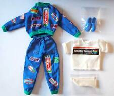 Traje para muñeco Ken Benetton Formula 1. Completo. Original