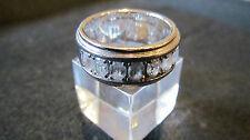 Ring Esprit Silber 925 Rodiniert Zirkon 57 Größe 18,1 mm