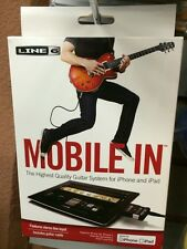 Line 6 Mobile In Guitar Input Adapter New