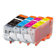 4P Quality Ink Set + Chip for Canon PGI-5 CLI-8 MP510 MX700 iP3300 iP3500
