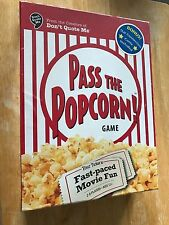 New~Pass The Popcorn! The Fast Paced Movie Trivia Game~Factory Sealed Nib