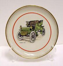 Set of 3 Vintage Hyalyn Antique Cars Porcelain 8.25 Plates