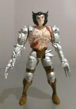 "Muy Raro Robot Figura Lobezno X-men 5"" Con Brazos automáticos 1994"