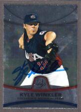 2010 BOWMAN PLATINUM PP 49  Kyle Winkler  USA TB RAYS  SIGNED AUTOGRAPH AUTO COA