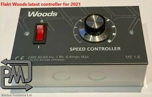 Flaktwoods Fan Speed Controller Switch ME1.6 Motor Control Switch Extract Canopy