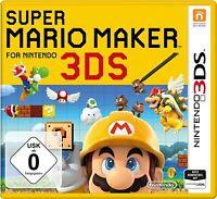 Nintendo 3DS Spiel - Super Mario Maker DE/EN mit OVP