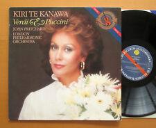 D 37298 Kiri Te Kanawa Verdi & Puccini John Pritchard 1983 CBS Digital NM/EX