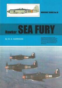 WPS16 NEW Warpaint Series Books 16 Hawker Sea Fury