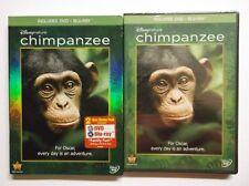 Chimpanzee (Blu-ray/DVD, 2012, 2-Disc Set, DVD/Blu-ray) BRAND NEW, Educational