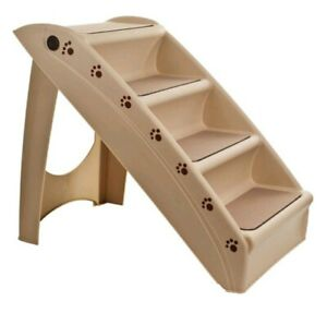 Petmaker Foldable Dog Staircase  Beige 22.63L x 15.25w x 19.63h